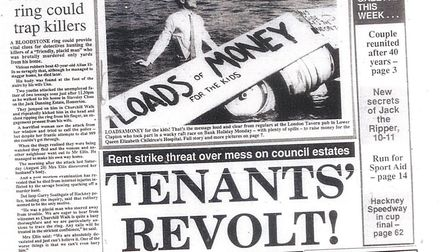 The Hackney Gazette on September 2, 1988.