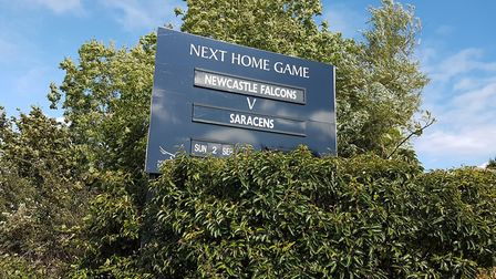 Saracens battled to a hard-fought opening day victory at Kingston Park over Newcastle Falcons.