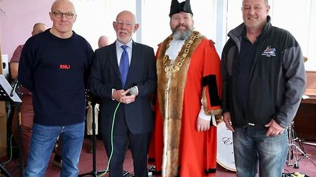The launch event for the annual Lowestoft in Bloom competition. Picture: Sid Cole.