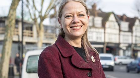Councillor Sian Berry has been elected the new co-leader of the Green Party. Picture: Green Party