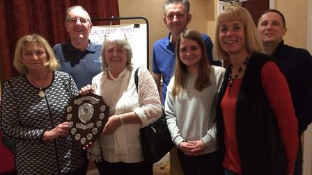 The Grungies won The Lowestoft Friends of East Anglia's Children's Hospices annual quiz. photo: Hele