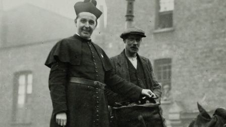 Father Basil Jellicoe who transformed housing in Somers Town. Picture: CAMDEN LOCAL STUDIES AND ARCH