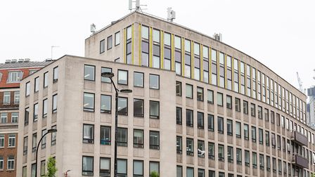 Cheapside House - one of the locations that EE will be putting the 5G antennae. The others have not