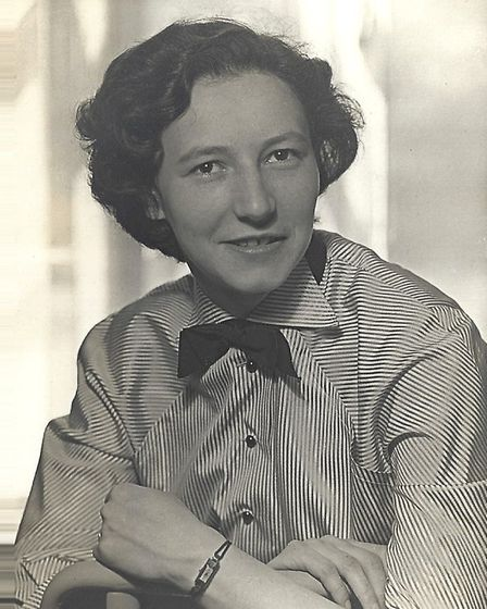 Anne-Marie Sandler as a young woman when she worked with Anna Freud. Picture: Catherine Sandler