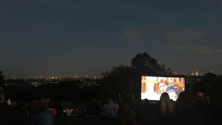 The Luna Cinema was back at Alexandra Palace for special screenings over the weekend. Photo: Betty C