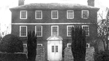 Kench Hill during the Second World War when it was a maternity hospital and officer's hospital. It i