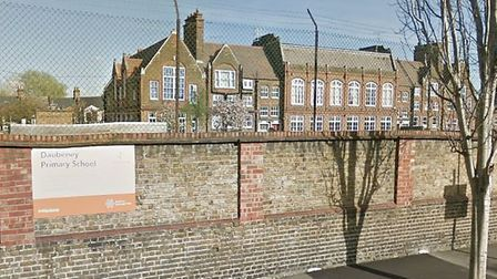 Daubeney Primary School. Photo by Google Streetview