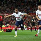 Tottenham Hotspur's Lucas Moura celebrates scoring his side's second goal of the game during the Pre