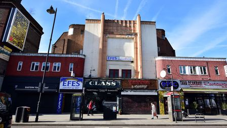 The former Savoy and ABC cinema in Stoke Newington Road, which closed in 1984. Picture: Polly Hancoc
