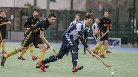Hampstead & Westminster's Will Calnan attacks (pic Mark Clews)