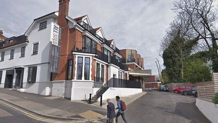 """54 Muswell Hill, the site of a new GP """"super-surgery"""""""