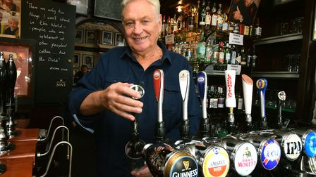 Jimmy McGrath, landlord of the King William IV pub in Hampstead. Picture: Polly Hancock