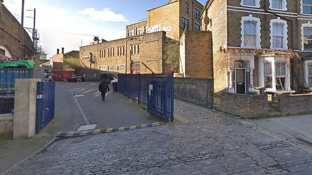 The man was shot in Amhurst Road. Picture: Google Maps