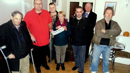 Members of the SORO committee, from left Ian Robb, David Finnigan, Russell Walker, Wendy Brooks, And