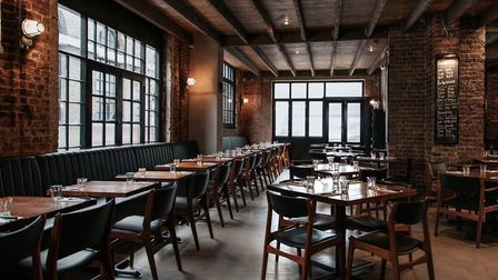 The new Blacklock in Shoreditch features a 95-cover restaurant and seperate bar space. Image: Rebecc