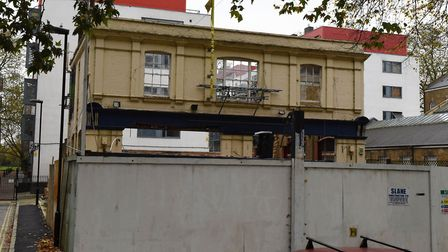 The former Ship Aground pub in Lea Bridge Road pictured in 2015. Not much has happened since.