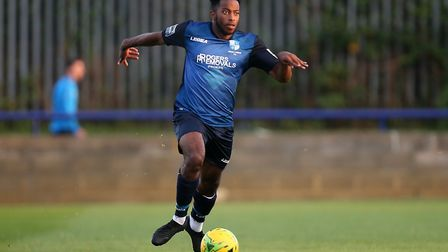 Reece Beccles-Richards of Wingate & Finchley (pic: Gavin Ellis/TGS Photo).