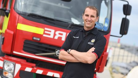 Chief Fire Officer Mark Hardingham. Picture: GREGG BROWN
