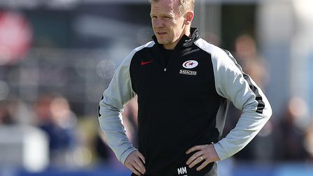 Saracens head coach Mark McCall (pic: Andrew Matthews/PA)