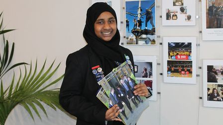 Greig City Academy student Sheeba Sheik Chand has been nominated for a Haringey Jack Petchey Foundat