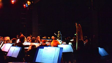 Nineteen music students from Lowestoft Sixth Form College worked with the Royal Philharmonic Orchest