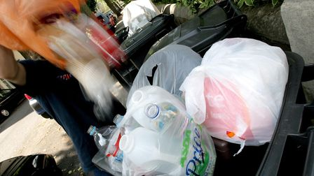 Rohan White is not happy about missed waste collections. Picture: PA IMAGES