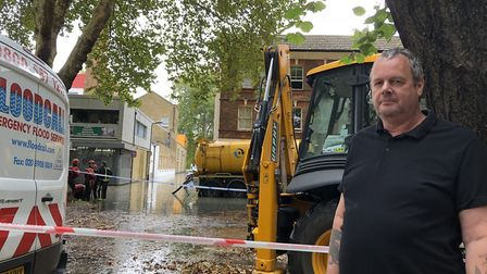 Andrew Northwood is worried he will be evacuated from his flat in Paradise Park. Picture: Emma Barth