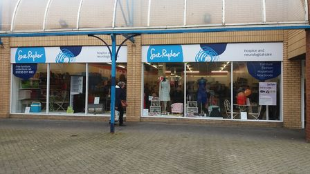 Sue Ryder has opened a new store in Lowestoft's Britten Centre. photo: Sue Ryder.