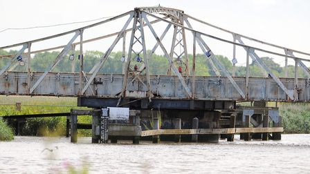 Somerleyton Swing Bridge was broken and was fixed by Network Rail. Picture: James Bass