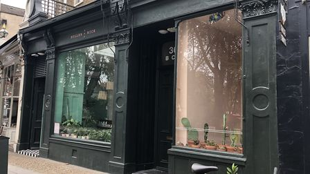 The Buller and Rice salon in Newington Green. Picture: Emma Bartholomew