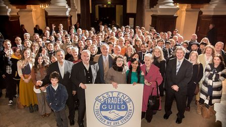 Launch of East End Trades Guild in 2015. Picture: EETG