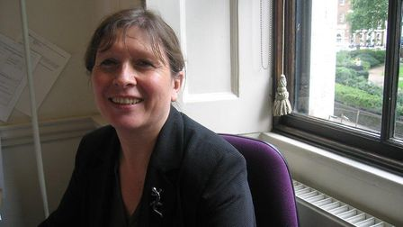 Sue Lister. Picture: Royal College of Nursing