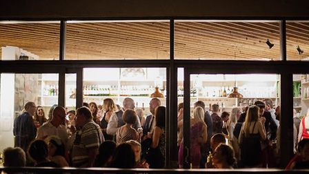 A packed Friday night in 2015 at The Proud Archivist bar. Picture: Culture-Brand Consultancy