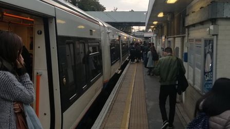 The scene at Hackney Central. Picture: Joe Street
