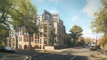 This is what 79 Fitzjohn's Avenue will look like when the development in the heart of Hampstead is f