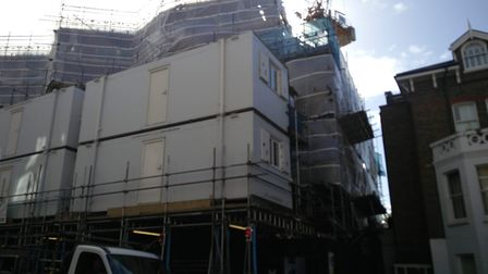 PegasusLife's 79 Fitzjohn's Avenue development is still a building site, and likely to be almost two