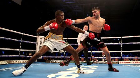 Ohara Davies (left) in action against Jack Catterall (pic: Nick Potts/PA)