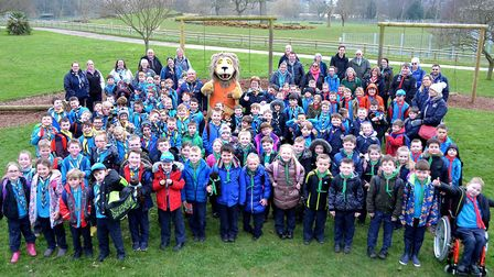 Beavers enjoyed a day at Africa Alive. Picture: Mick Howes
