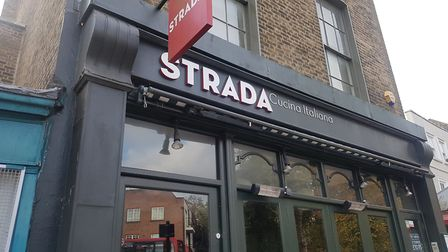 Strada, in South Grove, is closing on Saturday - at short notice