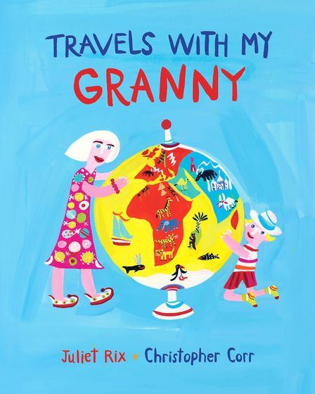 Travels with My Granny illustrations for a book by Juliet Rix