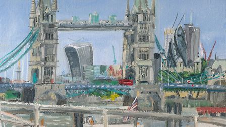 Tower Bridge by Craig Barnard donated for art auction