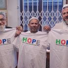 Hornsey's Wightman Road mosque held one of the hate crime awareness week events. Picture: Haringey P