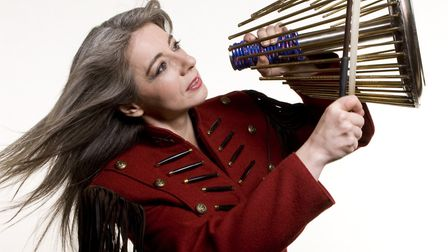Evelyn Glennie picture by James Callaghan