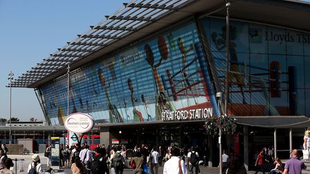 Plans to upgrade Stratford station were underway well before the Olympics. Photo: Stephen Pond