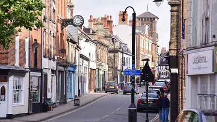 Lowestoft High Street and Scores, which are part of the Heritage Action Zone. Picture: NICK BUTCHER