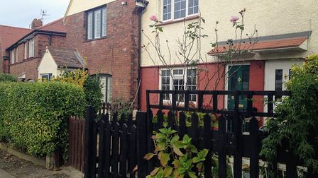 The house in Hill Road, Muswell Hill where Cathy Burke was found last year. Picture: Archant