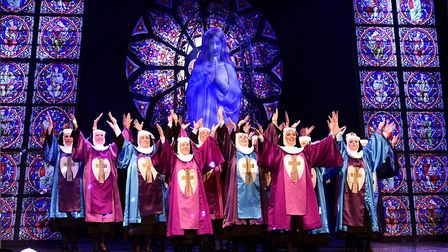 The Lowestoft Players' performance of Sister Act. Picture: Courtesy of Lowestoft Players