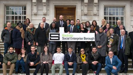 Representatives from Hackney's social enterprise sector were invited to meet Philip Glanville, the M