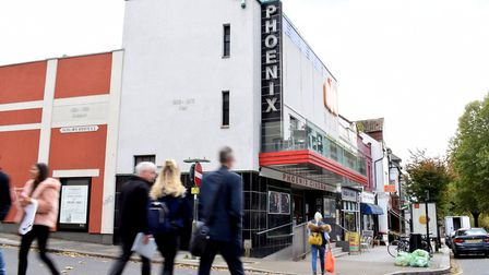 Locals are campaigning to save the Phoenix Cinema. Picture: POLLY HANCOCK