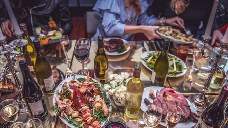Thanksgiving is a time for great food, wine and good company at Islington's Dead Dolls House. Pictur